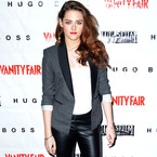 SHOP! Kristen Stewart's H&M leather trousers