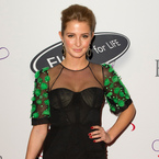 Millie Mackintosh dons LBD for Eva Longoria's charity gala