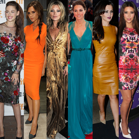 Celebrity Fashion Heroes of 2012