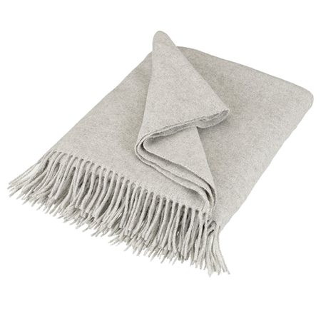 John Lewis lambswool throw