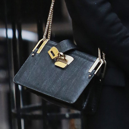SPOTTED! Millie Mackintosh's chain purse