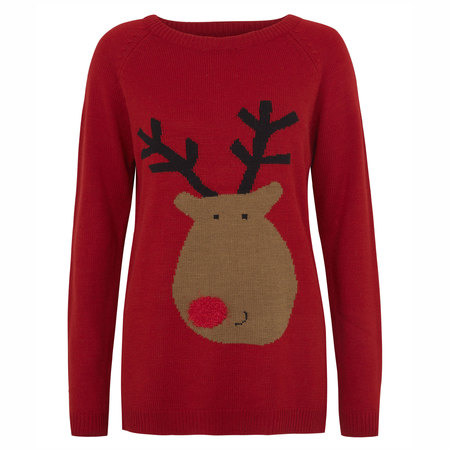 12 Days of Christmas Jumpers: Primark Rudolf print