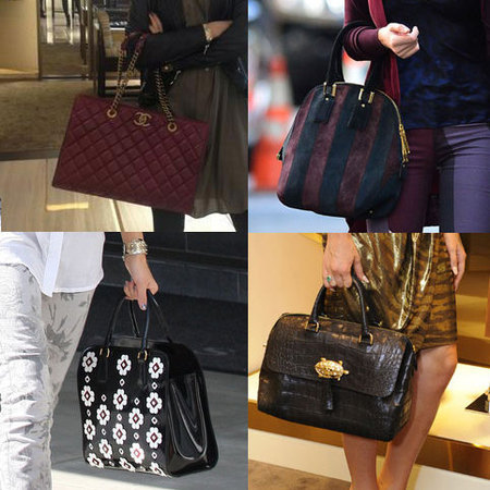 TOP 10: Celebrity bag heroes of 2012