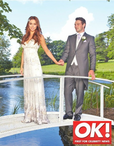 Una Healy's wedding dress