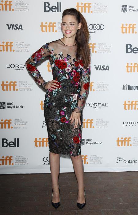 Kristen Stewart at 'On the Road' premiere, Toronto, 2012