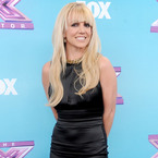 Britney Spears dons LBD for X Factor USA