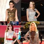 CELEBRITY TREND: Party season sequins