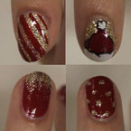 NAIL HOW-TO: Christmas sparkle with Illamasqua