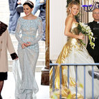 Blair vs. Serena Gossip Girl Wedding dresses