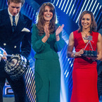 Kate Middleton glows in green at BBC's SPOTY 2012