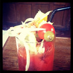 Hangover cure: Bloody Mary cocktail?