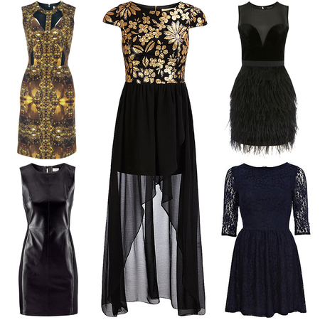 High street party dresses for New Year's Eve