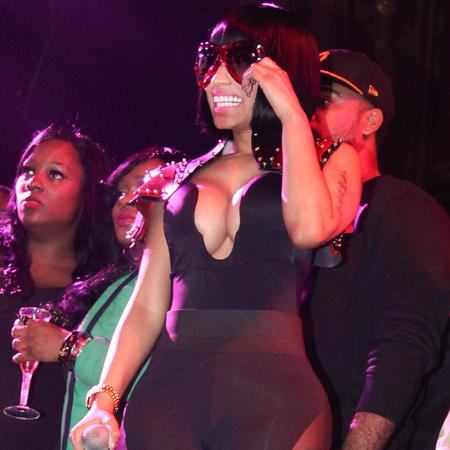Nicki Minaj at Christmas Party
