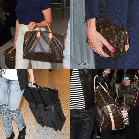 CELEBRITY TREND: Louis Vuitton monogram bags