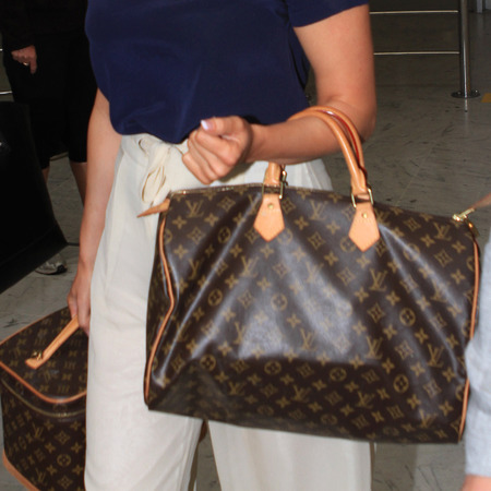 Kelly Brook's Louis Vuitton tote bag