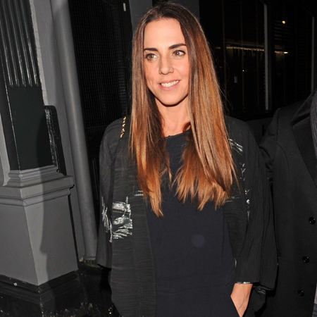 Mel C takes her tailoring tips from Victoria Beckham in chic jumpsuit