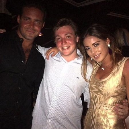 Spencer Matthews and Louise Thompson in St Barts