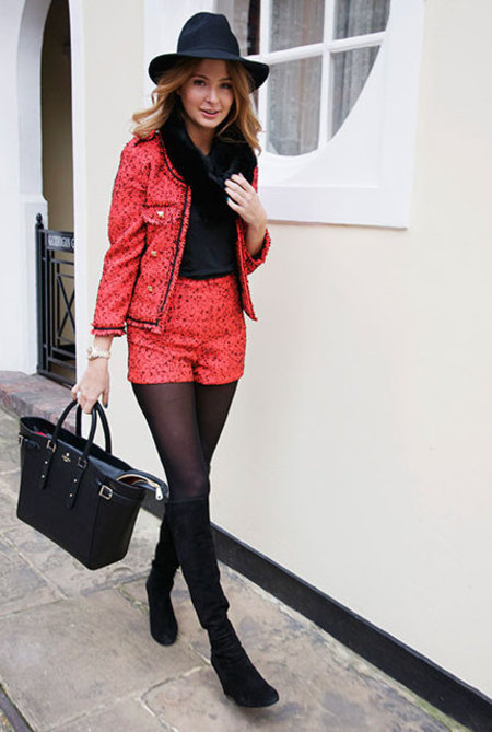 Millie Mackintosh with Aspinal bag