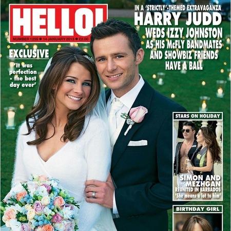 Harry Judd McFly wedding