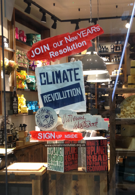Lush and Vivienne Westwood Climate Revolution