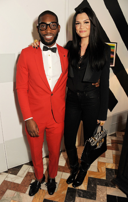 Jessie J and Tinie Tempah GQ's Men's Collections party