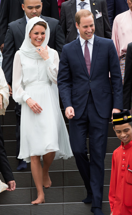 Kate and William in Malaysia