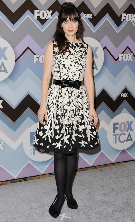 Zooey Deschanel at FOX TCA tour