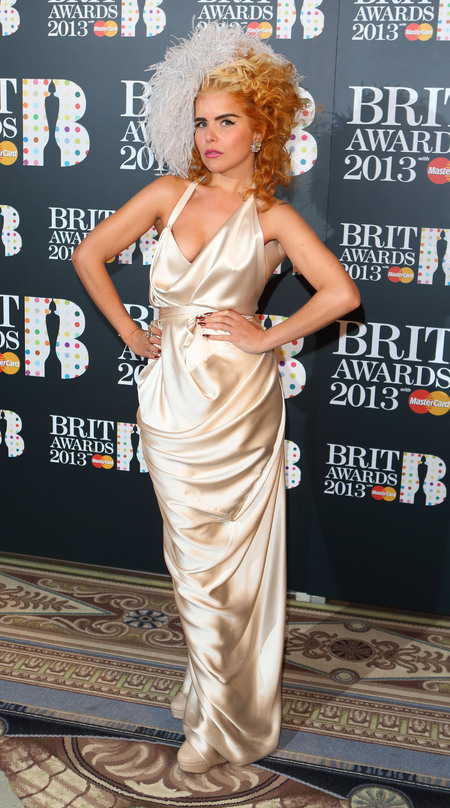 Paloma Faith at 2013 BRIT Awards Nominations