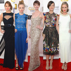 RED CARPET: Celebrity style at Critics' Choice Movie Awards