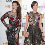 FASHION FIGHT! Kristen Stewart V Marion Cotillard in Zuhair Murad