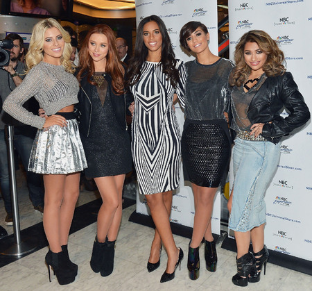 The Saturdays work metallics and monochrome in America