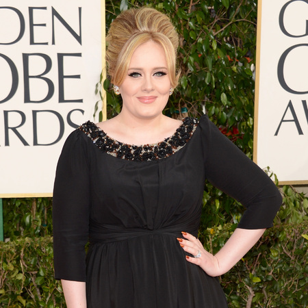 Adele at Golden Globes 2013