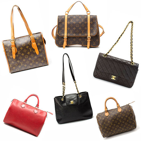 SHOP! Vintage Louis Vuitton & Chanel bags at Cocosa