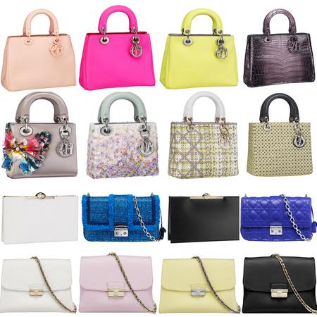 Dior Spring/Summer 2013 handbags