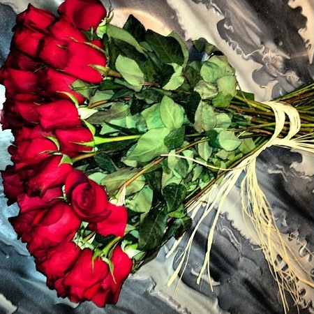 Kim Kardashian's roses