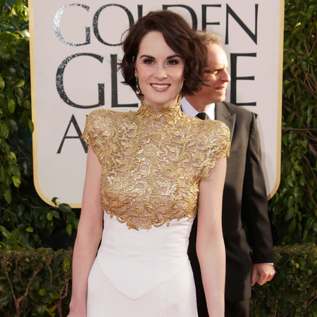 Michelle Dockery Golden Globes 2013