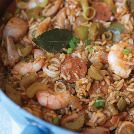 Hairy Dieters jambalaya
