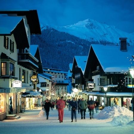 St Anton Skiing, Austria