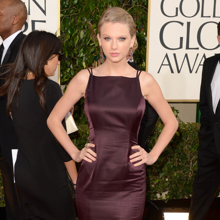 Taylor Swift at Golden Globes 2013