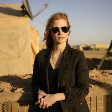 Jessica Chastain plays a member of the elite team of spies and military operatives who secretly devoted themselves to finding Osama Bin Laden in ZERO DARK THIRTY.