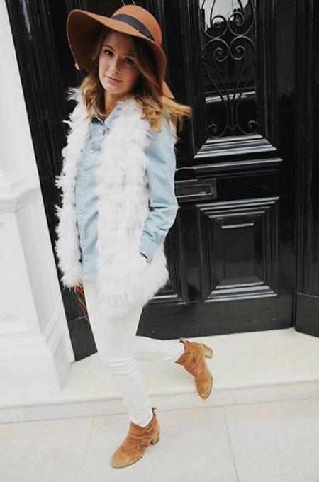 Millie Mackintosh goes boho for Style Diary