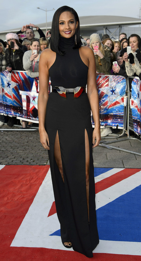 Alesha Dixon at Britain's Got Talent auditions