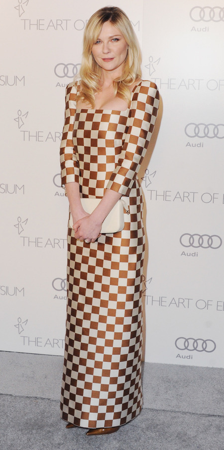 Kirsten Dunst in Louis Vuitton SS13