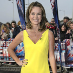 Amanda Holden pops in yellow at Britain's Got Talent auditions