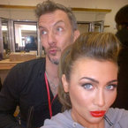 HAIR HOW-TO: Lauren Goodger's Dancing On Ice quiffed pony