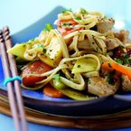 Aphrodisiac-rich Chicken and mango stir fry