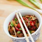 Make Sichuan chicken for Chinese New Year