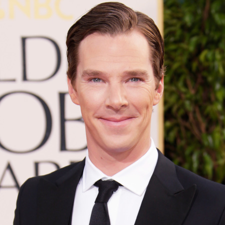 Benedict Cumberbatch at the Golden Globes