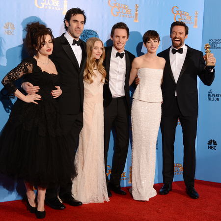 Les Miserables cast win Golden Globe award