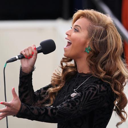 Beyonce at Obama's inauguration